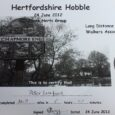 I've completed the first of my 3 Ultra's in 6 weeks - the Herts Hobble.